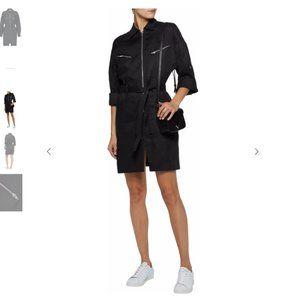 IRO Linen-blend twill mini dress ORIG $600